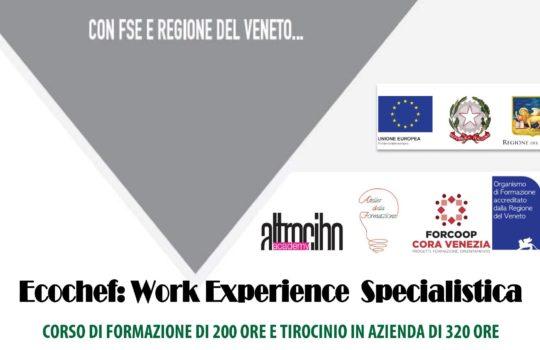 Corso di Formazione Ecochef: Work Experience Specialistica